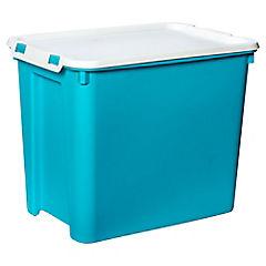 Caja Clip 44x30.5x35 cm 30 lts Azul
