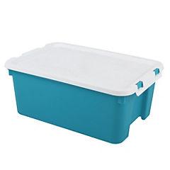 Caja Clip 40x30.5x18 cm 16 lts Azul