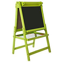 Pizarra infantil 93,5x48x57 cm verde