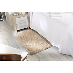 Alfombra Shaggy 60x114 cm ivory