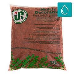 Cubierta suelo Mulch Rojo 30 lt
