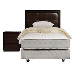 Box Spring 1.5 plazas Style 2 + Textil + Muebles Ralph