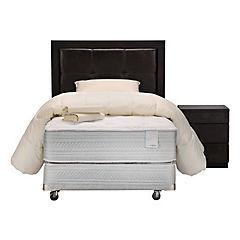 Box Spring 1.5 plazas Style 6 + Textil + Muebles Ralph