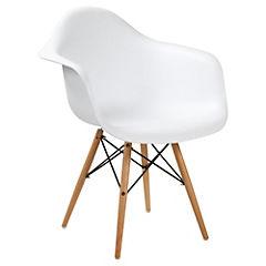 Silla 81x61x63 cm blanco