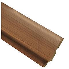 Zócalo madera Wenge 2.4 mt