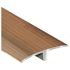 Guía de transición pisos madera Aluminio Jatoba 0.95 mt