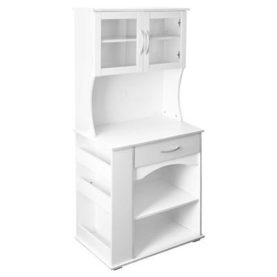 Mueble para microondas 76x46x170 cm mdf - Mueble alto microondas ...