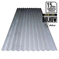 0.50 x 851 x 2500 mm, Plancha acanalada Zinc