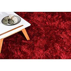 Alfombra 160x230 cm Cashmere Shaggy rojo