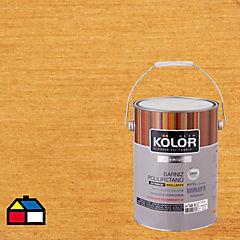 Barniz poliuretano brillante 1 gl Transparente