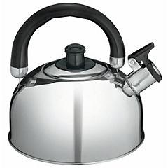 Tetera acero 2,5 litros plateado