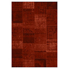 Alfombra cosy rojo desing 80x150 cm