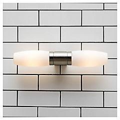 Apliqué para baño 40 W 2 luces