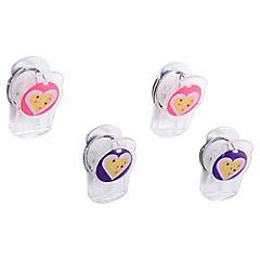 Set de 4 magnetos clip