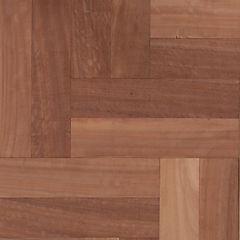 Piso de madera 30x7 cm 1 m2 café