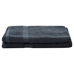 Juego de toallas de baño y mano 360 gr 2 unidades