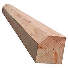 9x9x120 cm pilar pino Oregón
