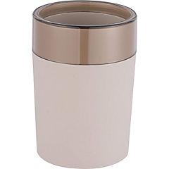 Vaso plástico Rubber taupe