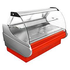 Vitrina refrigerada 700 litros rojo