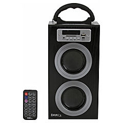 Parlante Boombox portatil USB/SD/MP3/FM