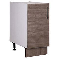 Mueble base 85x40x48 cm melamina Teca