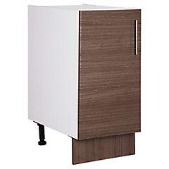 Mueble base 40x60 cm melamina teca