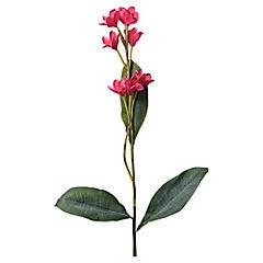 Flor silvestre artificial Fucsia