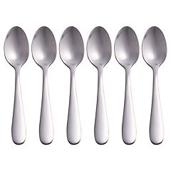 Set de cucharas para café acero inoxidable 6 unidades