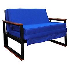 Futón 72x190x45 cm azul