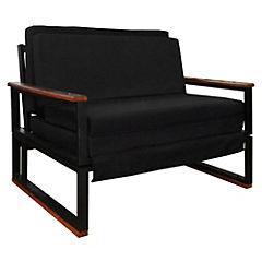 Futón 72x98x45 cm negro