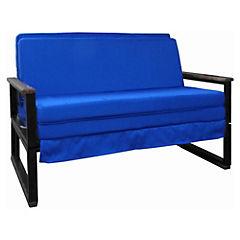 Futón Folk 1.5 plazas azul