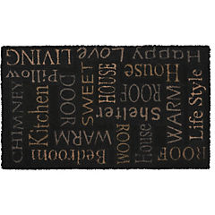 Limpiapiés Letras 45x75 cm