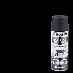 Spray Anticorrosivo Stops-Rust Antióxido Negro Satinado 340 gr