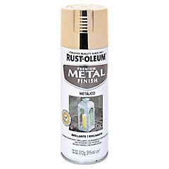 Spray Anticorrosivo Stops-Rust Metálico Oro 312 gr