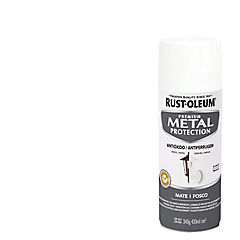 Spray Anticorrosivo Stops-Rust Antióxido Blanco Mate 340 gr