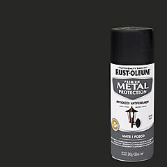Pintura anticorrosiva en spray mate 340 gr Negro