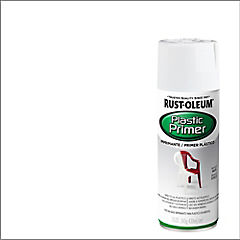 Imprimante en spray para plástico brillante 340 gr Blanco