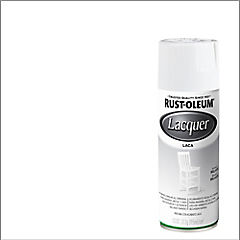 Laca en spray brillante 312 gr Blanco