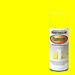 Pintura en spray fluorescente 340 gr Amarillo