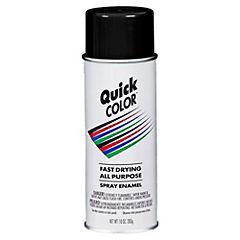 Pintura en spray brillante 283 gr Negro