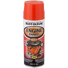 Esmalte en spray para motor brillante 340 gr Naranjo