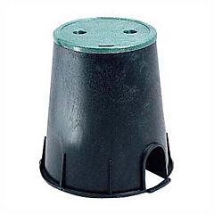 Caja para válvulas circular plástico 23x15 cm