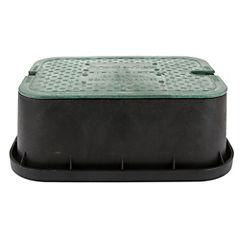 Caja válvulas rectangular 30 x 40 cm.
