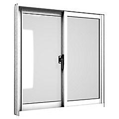 Ventana corredera aluminio intermedio 60x60 cm blanco