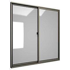 Ventana corredera aluminio intermedio 120x120 cm titanio