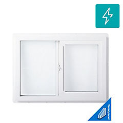 Ventana PVC de 70x50 cm blanco