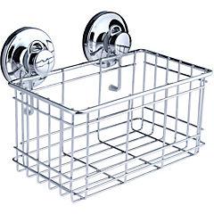 Canasto para baño metal Cromado
