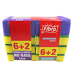 Pack 8 Esponjas Fibro
