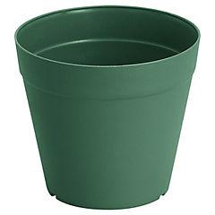 Macetero de plástico 16 cm verde