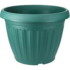 Macetero de plástico 26 cm Verde